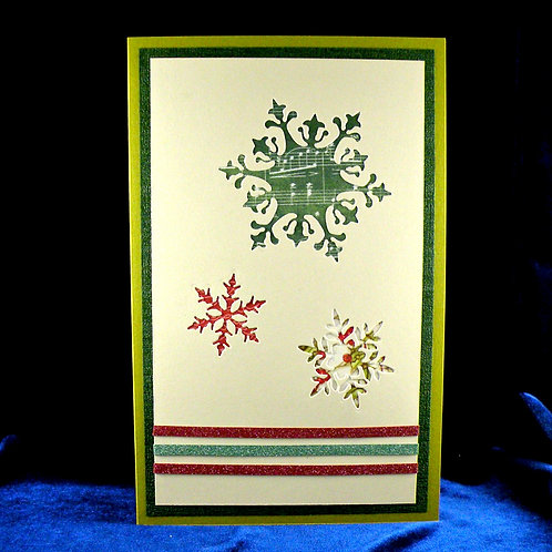 Cartes de Noël aux 3 flocons