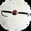 Thumbnail: Ensemble collier, bracelet et boucle d'oreilles Aztèque