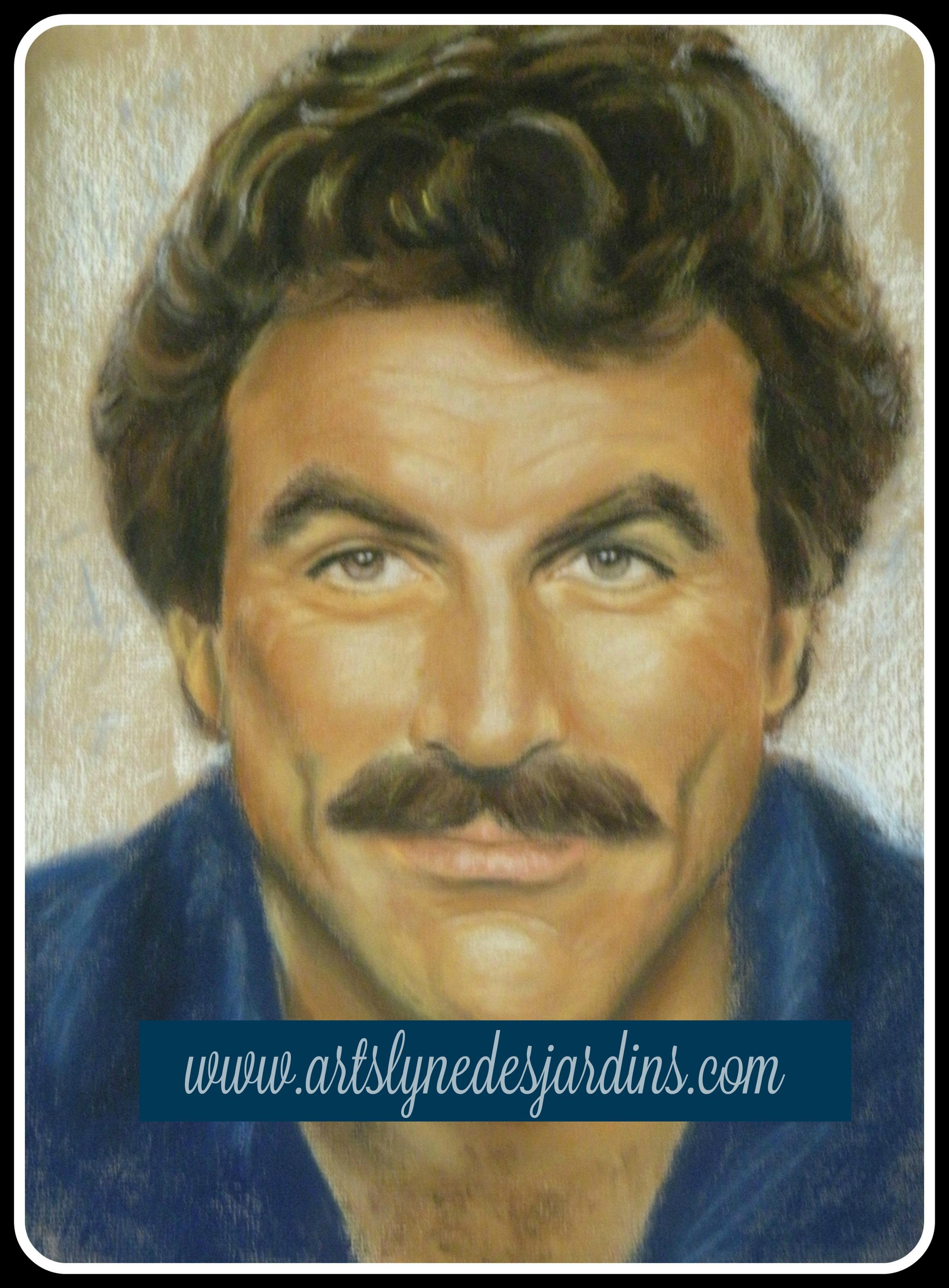 Portrait de Tom Selleck