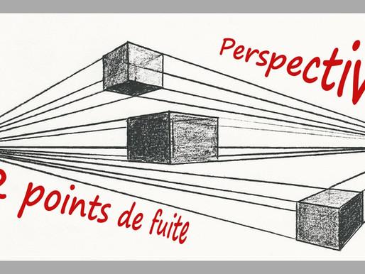 Perspective: faire un cube à 2 points de fuite