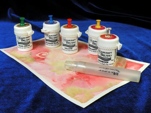 Introduction aux pigments aquarelle