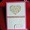 Thumbnail: Carte fête des mères (moyenne) avec coeur fleuri