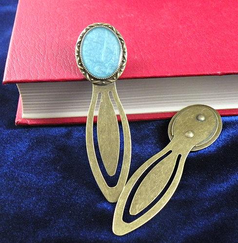 Signet bleu aqua