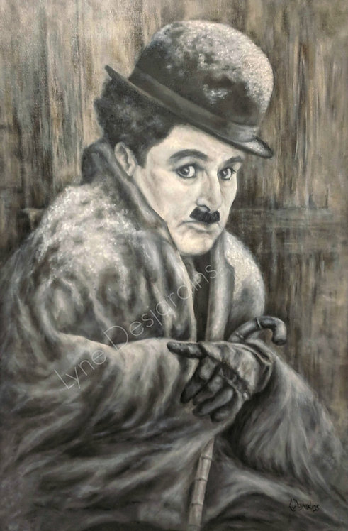 Portrait Charlie Chaplin