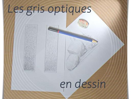 Les gris optiques en dessin