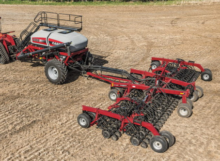 Case IH presentó su primera sembradora en el mercado argentino