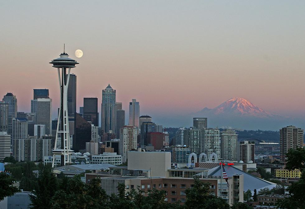 시애틀의 명소 시리즈 -스페이스 니들(Space Needle)