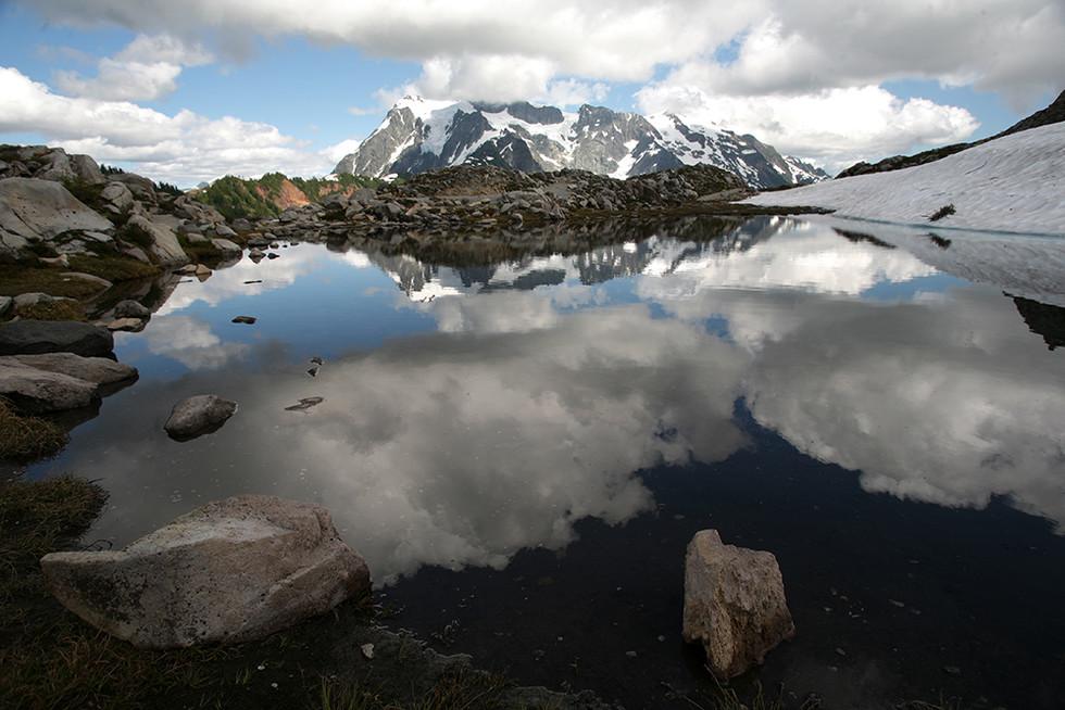 Mt. Baker 와 Mt. Shuksan
