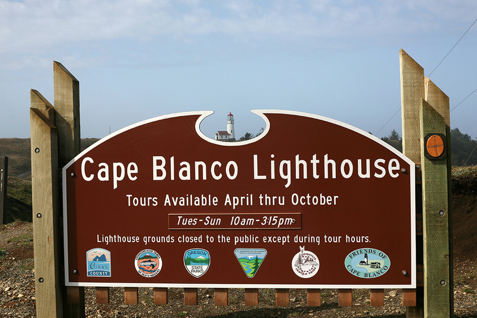 Oregon Cape Blanco Light House