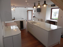 30mm Unistone Carrara Misterio (Polished) Quartz Worktops