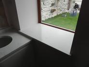 Windowsill out of Unistone Carrara Misterio Quartz