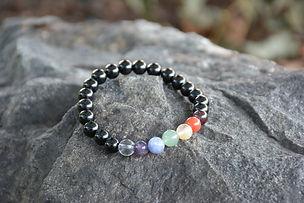 mala bracelet with chakras