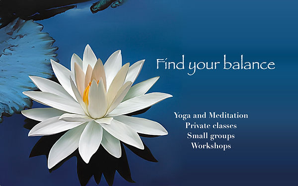 Lotus Flower In Balance Yoga find your balance