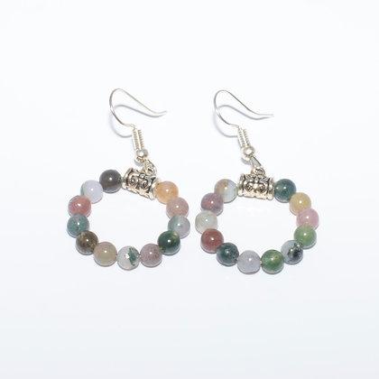 Indian Agate Earrings