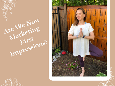 Are We Now Marketing First Impressions?