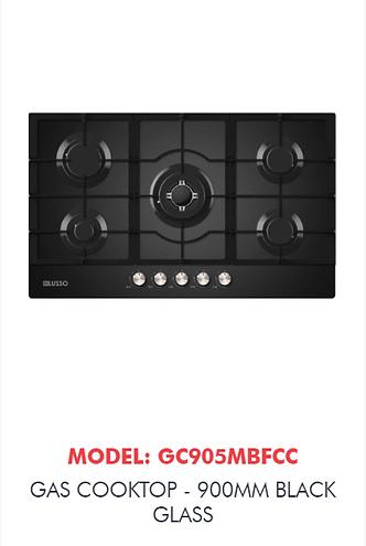 black glass cooktop caloundra