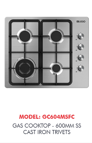 gas cooktop sunshine coast