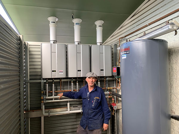 commercial gas hot water