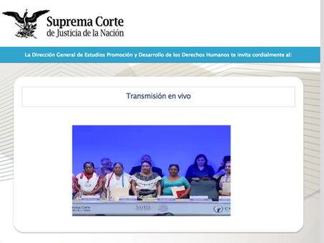 GPA-Trained Midwife Speaks at Mexico's Supreme Court of Justice