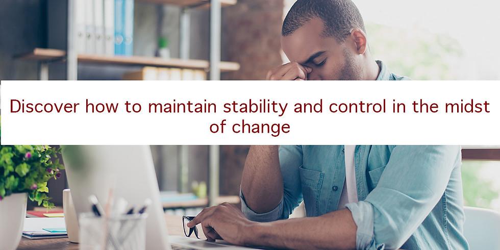 Turner Change Management Presents: Stress Management for Organizational Change