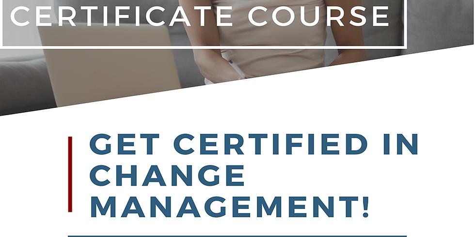 Turner Change Management Presents - Living and Leading Change: Change Management Certification Course