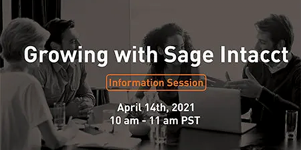The Answer Company Presents: Growing Your Accounting Firm with Sage Intacct