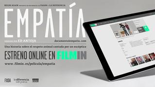 Estreno online de Empatía en FILMIN