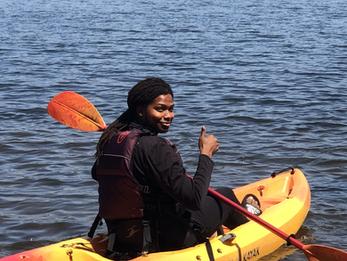 Tariq Brown, Kayaking July 2021