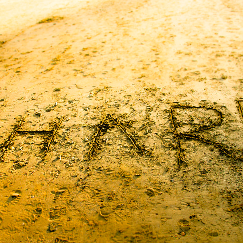 Share,Whitby beach