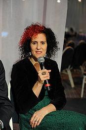 Benita speaking in Women and Sharing Eco