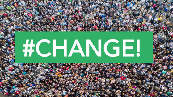 #CHANGE! New Year's Resolutions that Could Change the World