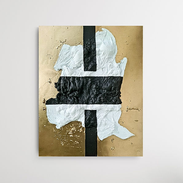 Bo Contrast, Beige, Gold, Art, Mixed Media Art, Artist, abstract art, abstrakte kunst, moderne kunst, Heilbronn, Stuttgart, Baden Württemberg, junge Künstler, aufstrebende künstler, emerging artist germany, schwarz, Black, structure