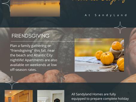 """A SandyLand """"Friendsgiving"""""""