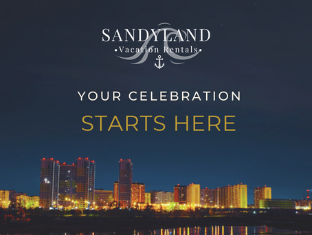 Your Celebration Starts Here!