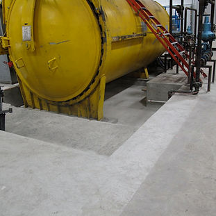 concrete machine base