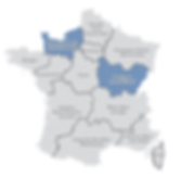 normandie et bourgogne franche comté