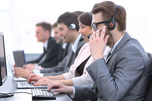Call center telemaketing and generating leads.