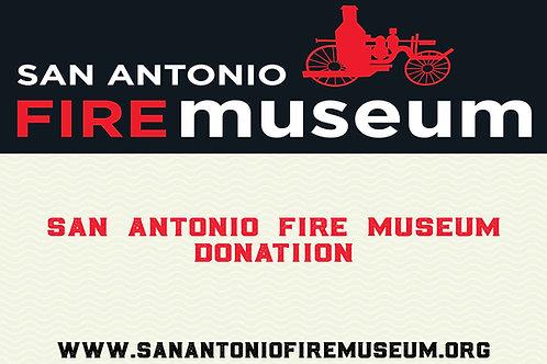 Donation to the San Antonio Fire Museum