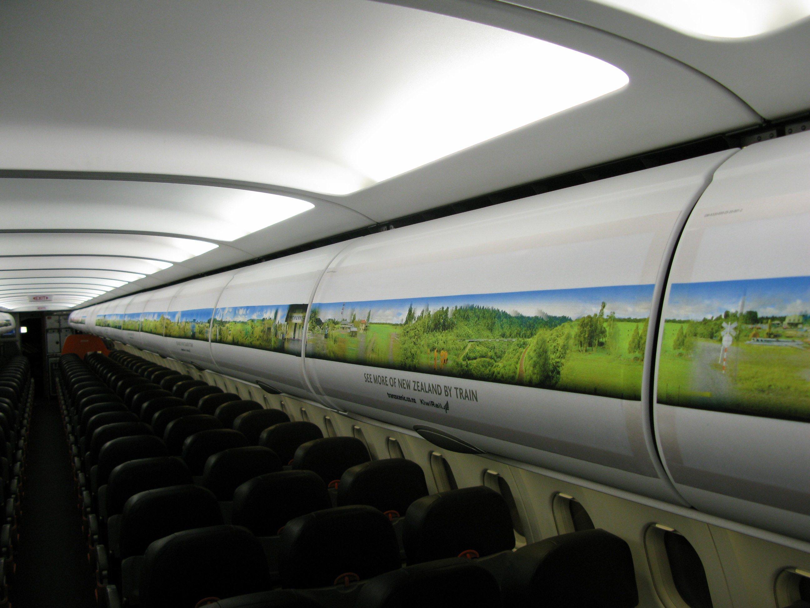 Overhead Locker Tourism Advertising