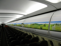 Overhead Locker Tourism Advertising