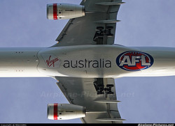 AFL Underneath Fuselage Ad