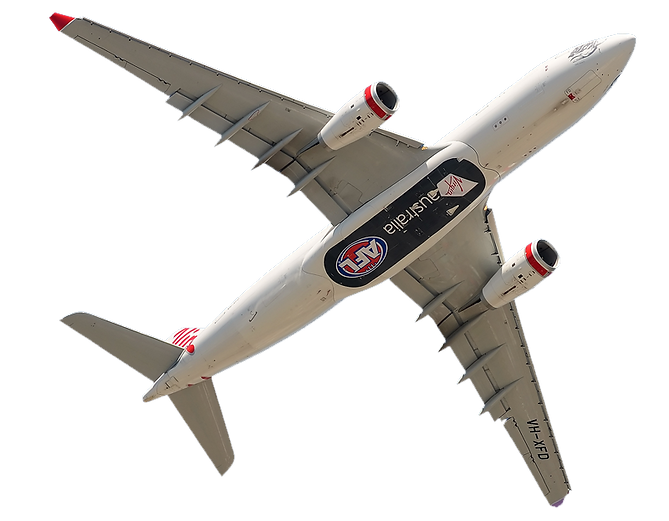 AFL branded passenger aircraft. Aircraft graphic specialists.