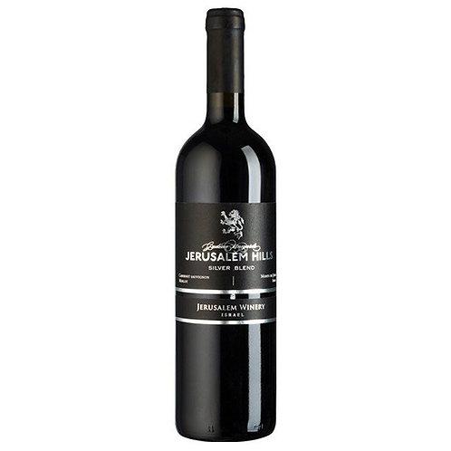 Jerusalem Hills Silver Blend Cabernet Sauvignon/Merlot - Vin d'Israël