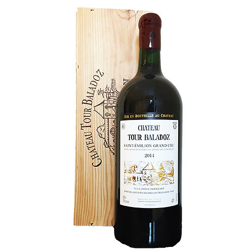 Château Tour Baladoz - Saint Emilion Grand Cru - Double Magnum (3l)