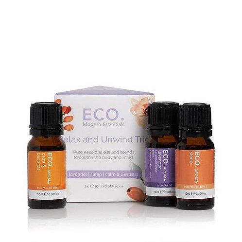 Eco Modern Essential Oils Relax & Unwind Trio