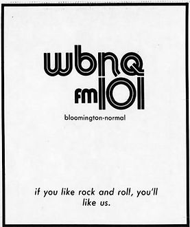 WBNQ,FM 101, Bloomington, Illinois