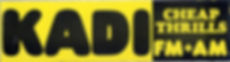 KADI bumper sticker 1974