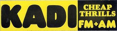KADI bumper sticker 1974