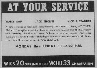 """WICS """"At Your Service"""""""
