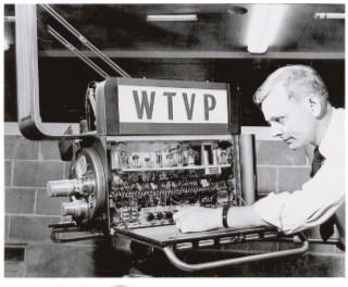 A WTVP studio camera